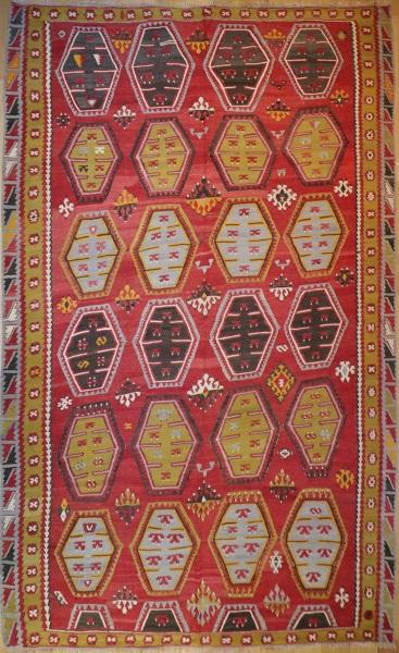 R7095 Large Turkish Kilim Rugs