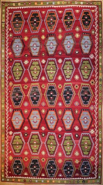 R7628 Large Turkish Kilim Rugs