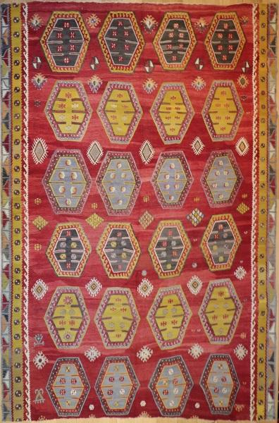 R8063 Large Turkish Kilim Rugs