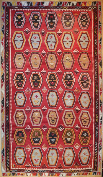 R8062 Large Turkish Sarkisla Kilim Rug