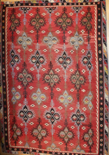 Large Turkish Sarkisla Kilim Rug R8031
