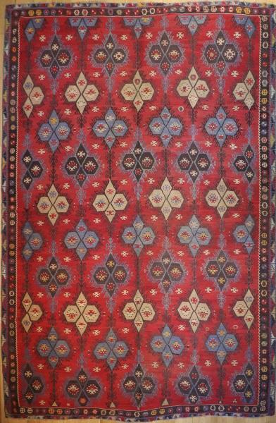 R7605 Large Turkish Sivas Sarkisla Kilim Rug