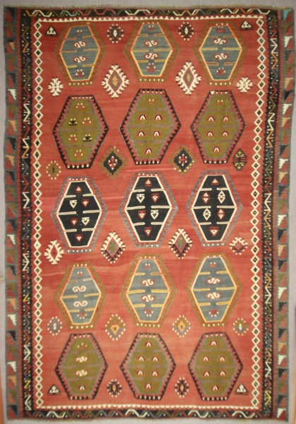R7675 Large Turkish Kilim Carpet