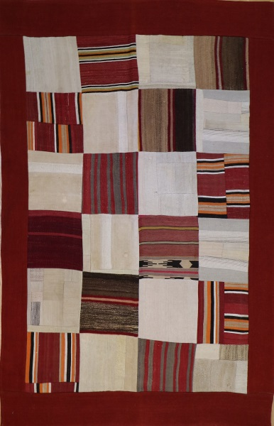 R3619 Modern Kilim Patchwork Contemporary Rug