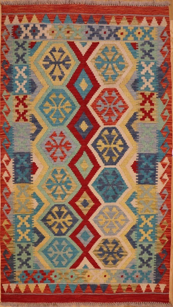 R5518 New Afghan Kilim Rugs