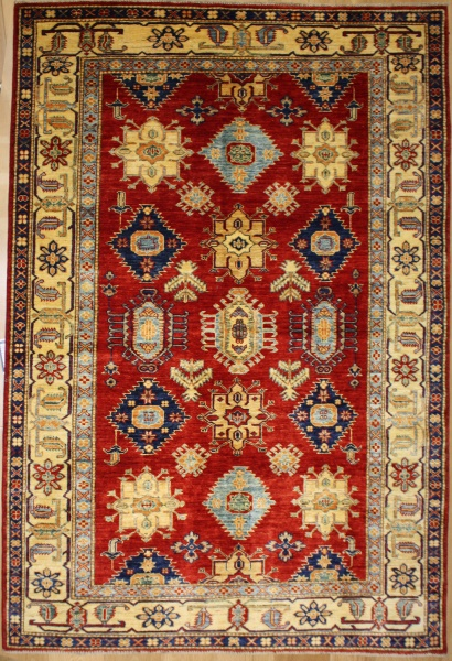 R8841 New Handmade Kazak Carpet