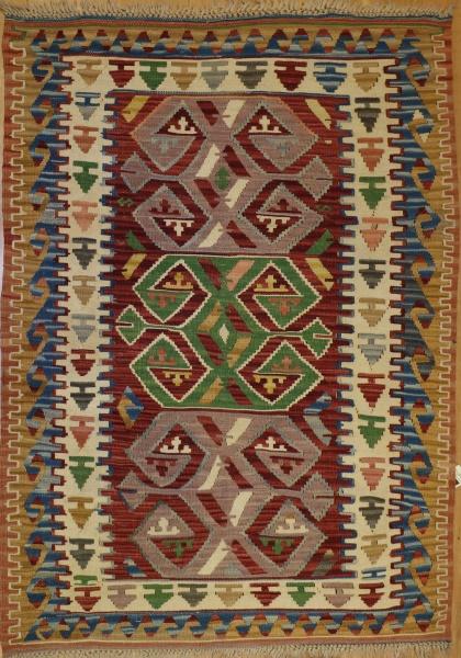 R6130 New Turkish Flat Weave Kilim Rugs