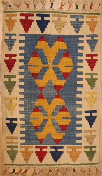 R5725 New Turkish Kayseri Kilim Rugs