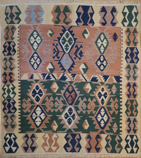 R5503 New Turkish Kilim Rugs
