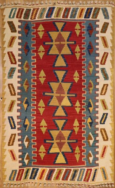 R8248 New Turkish Kilim Rugs