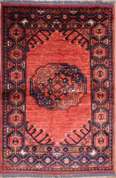 R6748 New Turkmenistan Ersari Rug