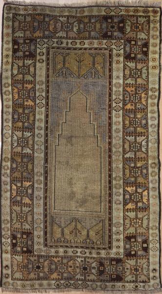 R3319 Old Anatolian Konya Rug