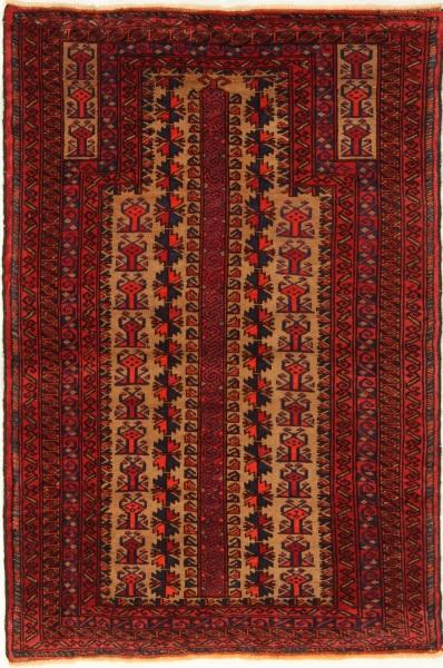 R7754 Old Persian Belouch Carpet