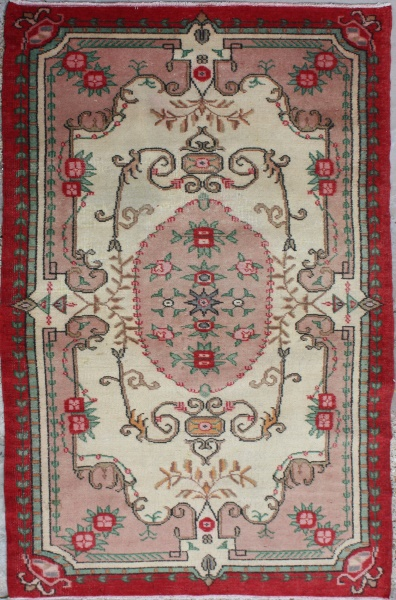 R6790 Old Turkish Anatolian Rug