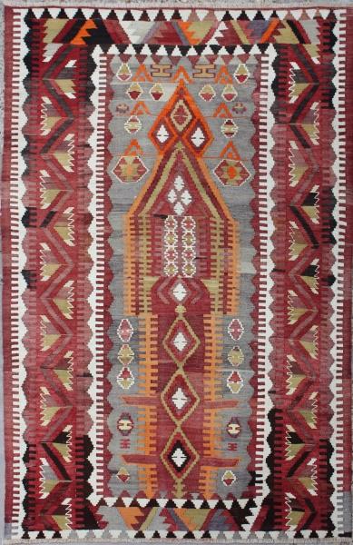 R6795 Old Turkish Kilim