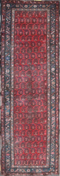 Antique Oriental Carpet Runner R1433