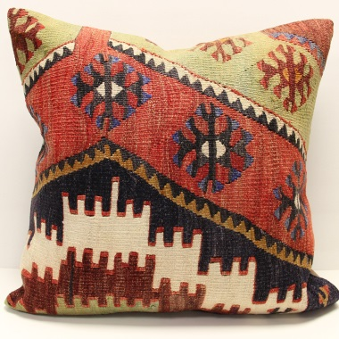 XL444 Oriental Turkish Kilim Cushion Covers