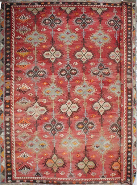R6626 Over size kilim rug