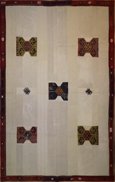 R2600 Patchwork Kilim Flat Weave Rug