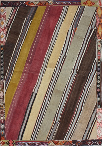 R3616 Patchwork of Kilims