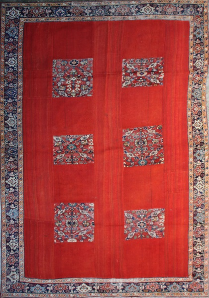 R2997 Antique Carpet Patchwork