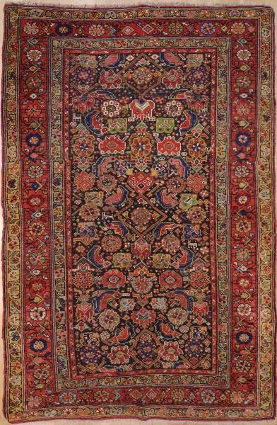 F888 Persian Antique Bijar Carpet