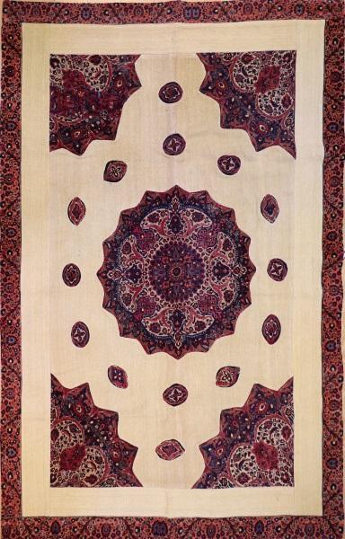 R3080 Persian Carpet Patchwork