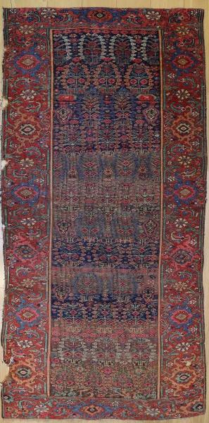 R7443 Persian Hamadan Carpet