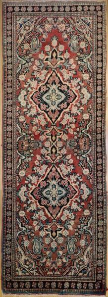 R504 Persian Hamadan Carpet Runner