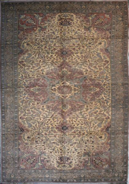 R3717 Persian Kerman Carpet