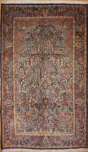 R5313 Persian Kerman Rug