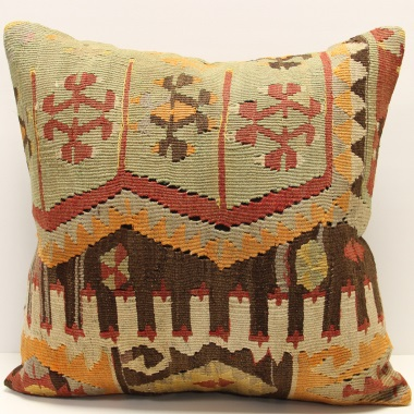 L665 Persian Kilim Cushion Pillow Cover
