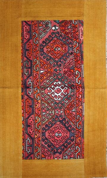 R1751 Persian Kilim Patchwork