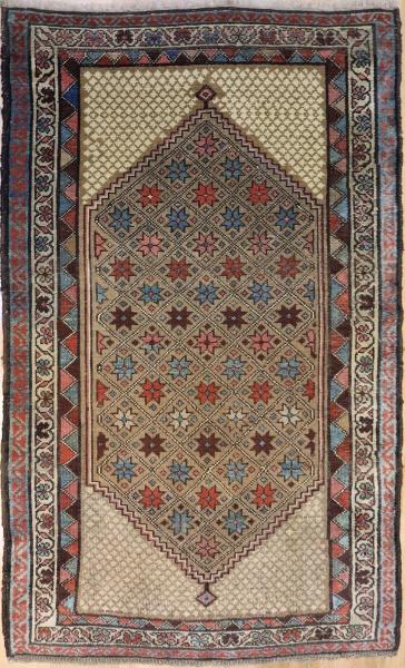 R1226 Persian Kurdish Rug