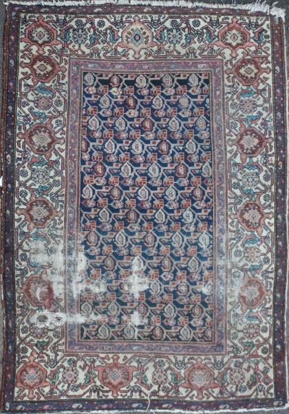 Antique Persian Mahal Rug R1455