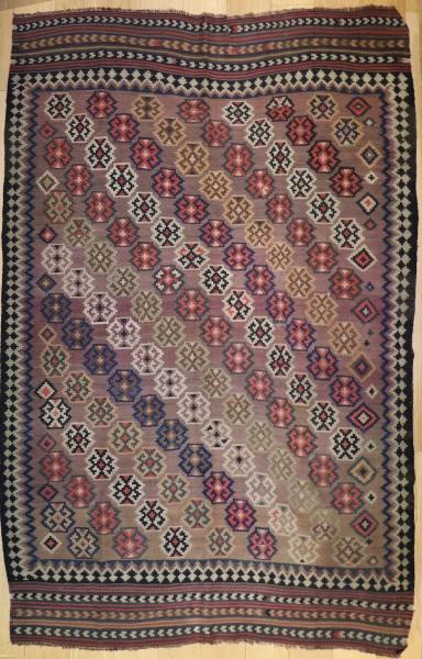 R9373 Persian Qashqai Kilim Rug