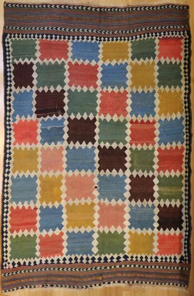 R9299 Persian Qashqai Kilim Rugs