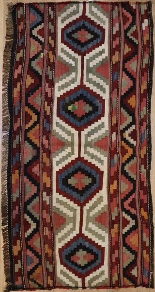 R8350 Persian Sahshavan Kilim Rugs