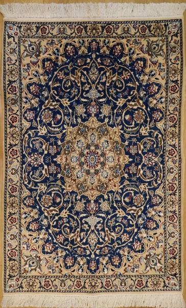 R9032 Persian Silk and wool Nain Rugs