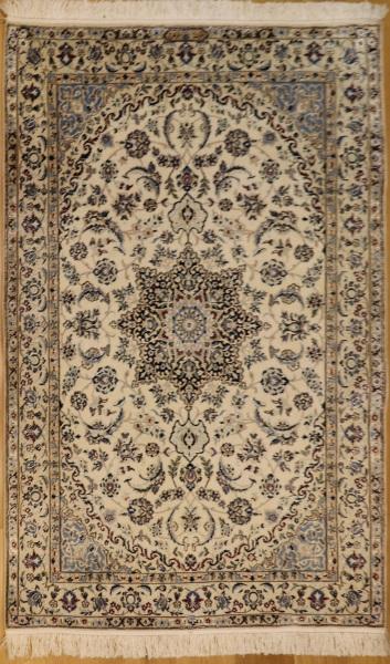 R8616 Persian Silk and wool Nain Rugs