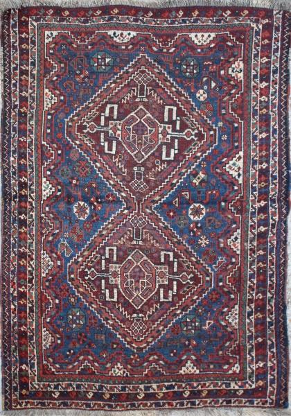 R1852 Beautiful Persian Qashqai Carpet