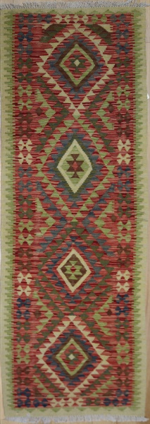 R8864 Gorgeous Hand woven New Afghan Kilim Runners