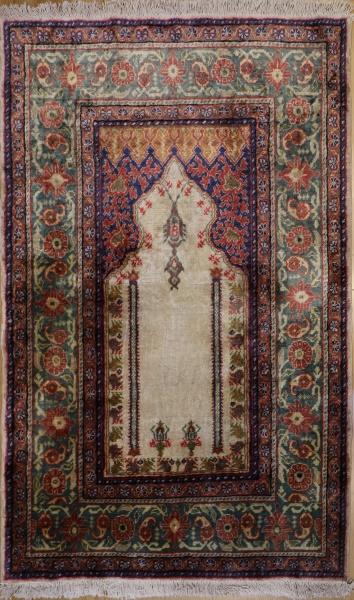 R9391 Turkish Kayseri Floss Silk Rug