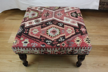 R5201 Rug Store Kilim Covered Stools
