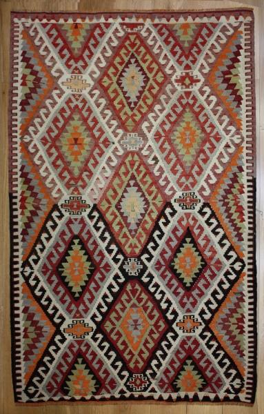 R8189 Rug Store Vintage Turkish Antalya Kilim Rugs