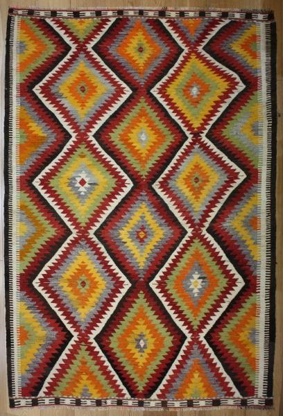 R8201 Rug Store Vintage Turkish Antalya Kilim Rugs
