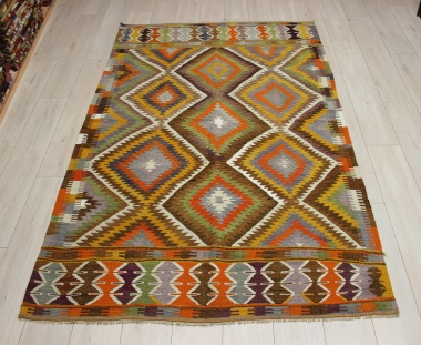 R9080 Rug Store Vintage Turkish Antalya Kilim Rugs