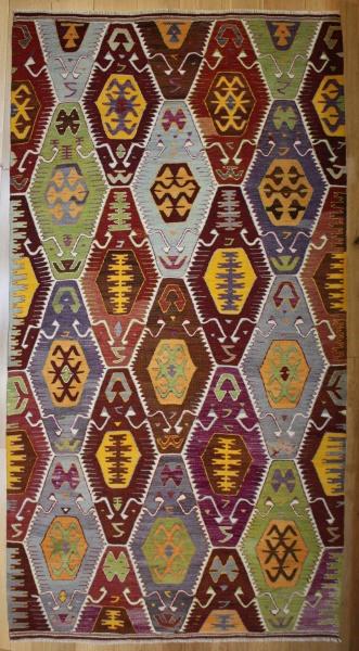 R8203 Rug Store Vintage Turkish Barak Kilim Rugs
