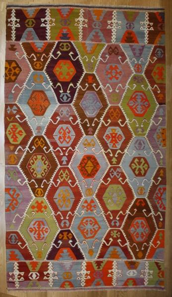 R8218 Rug Store Vintage Turkish Barak Kilim Rugs