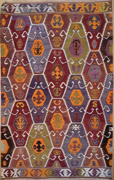 R8230 Rug Store Vintage Turkish Barak Kilim Rugs